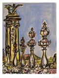 Pont Alexander - Scene II Giclee Print by Susan Gillette