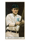 Chicago, IL, Chicago Cubs, Ward Miller, Baseball Card Prints