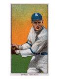 Brooklyn, NY, Brooklyn Dodgers, Al Burch, Baseball Card Print