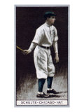 Chicago, IL, Chicago Cubs, Frank Schulte, Baseball Card Prints