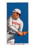 Boston, MA, Boston Red Sox, Tris Speaker, Baseball Card Affiche