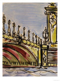 Pont Alexander - Scene III Giclee Print by Susan Gillette