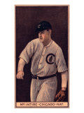 Chicago, IL, Chicago Cubs, Harry McIntire, Baseball Card Prints