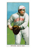 Boston, MA, Boston Red Sox, Tubby Spencer, Baseball Card Posters by  Lantern Press