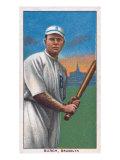 Brooklyn, NY, Brooklyn Dodgers, Al Burch, Baseball Card Posters