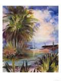 Tropical Paradise Giclee Print by Mary Dulon