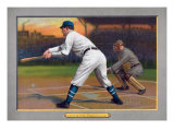 Brooklyn, NY, Brooklyn Superbas, Ed Lennox, Baseball Card Posters by  Lantern Press