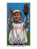 Boston, MA, Boston Red Sox, Jake Stahl, Baseball Card Posters