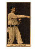 Chicago, IL, Chicago Cubs, Leonard Cole, Baseball Card Print