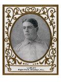 Brooklyn, NY, Brooklyn Superbas, Harry Lumley, Baseball Card Poster by  Lantern Press