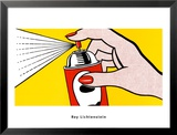 Spray, 1962 Affiches par Roy Lichtenstein