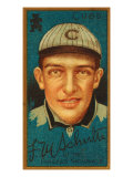 Chicago, IL, Chicago Cubs, Frank M. Schulte, Baseball Card Posters