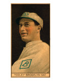 Brooklyn, NY, Brooklyn Dodgers, Bert Tooley, Baseball Card Posters by  Lantern Press
