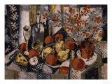 Pomegranate with Patterns Affiches par Susan Conti
