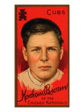 Chicago, IL, Chicago Cubs, Mordecai Brown, Baseball Card Posters