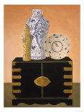 Asian Still Life I Lámina giclée por Hampton Hall