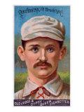 Brooklyn, NY, Brooklyn Dodgers, Bob Caruthers, Baseball Card Print