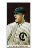 Chicago, IL, Chicago Cubs, Edward Reulbach, Baseball Card Art