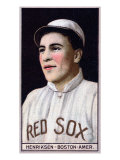 Boston, MA, Boston Red Sox, Olaf Henriksen, Baseball Card Posters