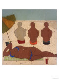 Muscle Beach Giclee Print by Susan Gillette