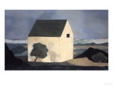 House by the Shore Giclee Print by Mary Calkins