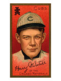 Chicago, IL, Chicago Cubs, Harry McIntire, Baseball Card Print