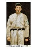 Brooklyn, NY, Brooklyn Dodgers, Don Carlos Ragan, Baseball Card Poster