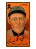 Chicago, IL, Chicago Cubs, Harry Steinfeldt, Baseball Card Poster