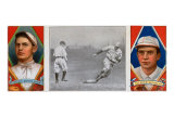 Boston, MA, Boston Red Sox, Joseph Wood, Tris Speaker, Baseball Card Poster