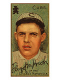 Chicago, IL, Chicago Cubs, Floyd M. Kroh, Baseball Card Art by  Lantern Press