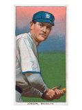 Brooklyn, NY, Brooklyn Superbas, Tim Jordan, Baseball Card Posters by  Lantern Press