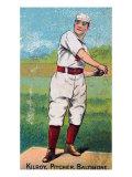 Baltimore, MD, Baltimore Orioles, Matt Kilroy, Baseball Card, no.3 Posters