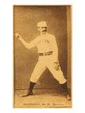 Boston, MA, Boston Beaneaters, Black Jack Burdock, Baseball Card, no.3 Posters by  Lantern Press