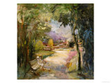 Park, no. 3 Giclee Print by Mary Dulon
