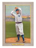 Brooklyn, NY, Brooklyn Dodgers, George Bell, Baseball Card Print