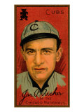 Chicago, IL, Chicago Cubs, James P. Archer, Baseball Card Print