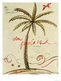 Palmier Vivant II Giclee Print by Susan Gillette