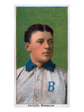 Brooklyn, NY, Brooklyn Dodgers, Bill Dahlen, Baseball Card Poster