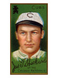 Chicago, IL, Chicago Cubs, James T. Sheckard, Baseball Card Poster