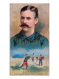 Brooklyn, NY, Brooklyn Dodgers, E. A. Burch, Baseball Card Posters