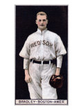 Boston, MA, Boston Red Sox, Hugh Bradley, Baseball Card Posters