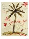Palmier Vivant I Prints by Susan Gillette