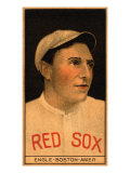 Boston, MA, Boston Red Sox, Clyde Engle, Baseball Card, no.2 Poster
