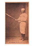 Boston, MA, Boston Beaneaters, Black Jack Burdock, Baseball Card, no.2 Poster by  Lantern Press