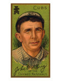Chicago, IL, Chicago Cubs, John G. Kling, Baseball Card Poster