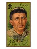 Chicago, IL, Chicago Cubs, John G. Kling, Baseball Card Prints by  Lantern Press