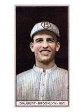 Brooklyn, NY, Brooklyn Dodgers, John Daubert, Baseball Card Print