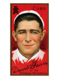 Chicago, IL, Chicago Cubs, David Shean, Baseball Card Posters