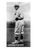 Chicago, IL, Chicago Cubs, Roger Bresnahan, Baseball Card Art by  Lantern Press
