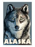 Wolf, Alaska Posters by  Lantern Press